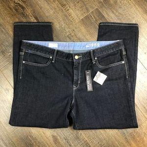 *BNWT* Gap 1969 Brand Dark Wash Skinny Jeans 35/20